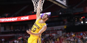 Mykhailiuk é destaque na vitória dos Lakers na Summer League