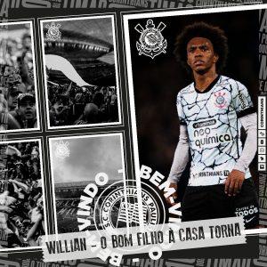 Willian é do Timão: