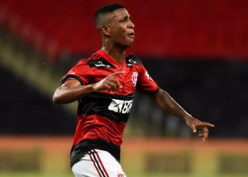 O Flamengo emprestou o meia Max, de 20 anos, ao Cuiabá até o fim da temporada. O objetivou da transação é diminuir a folha salarial do clube carioca (Foto: Divulgação/ Flamengo)