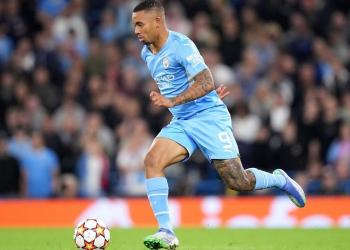 200 jogos de Gabriel Jesus no Manchester City
