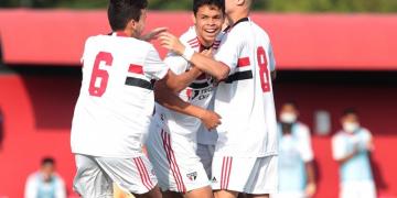 São Paulo goleia Jacuipense por 8 a 2 na Copa do Brasil sub-17