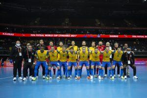 Brasil x Argentina na semifinal da Copa do Mundo de Futsal