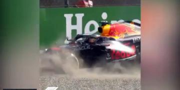Veja o acidente chocante entre Verstappen e Hamilton em Monza