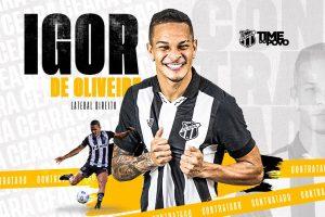 Ceará anuncia contratação do lateral-direito Igor até o final de 2023