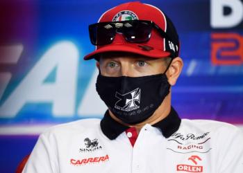 Após covid-19, Raikkonen confirma retorno às pistas no GP da Rússia