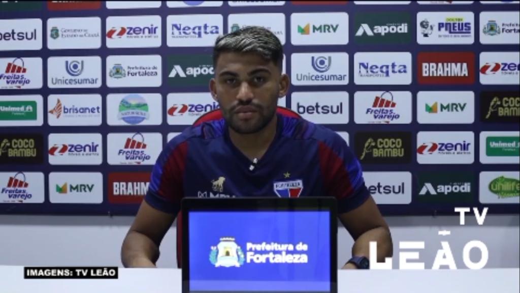 Fortaleza: Ronald comemora gol que abriu a vitória sobre o São Paulo