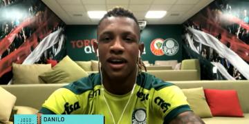 "Danilo, volante do Palmeiras, fala sobre boa fase, ida para a Europa e mira seleção brasileira: ""sempre focado"""