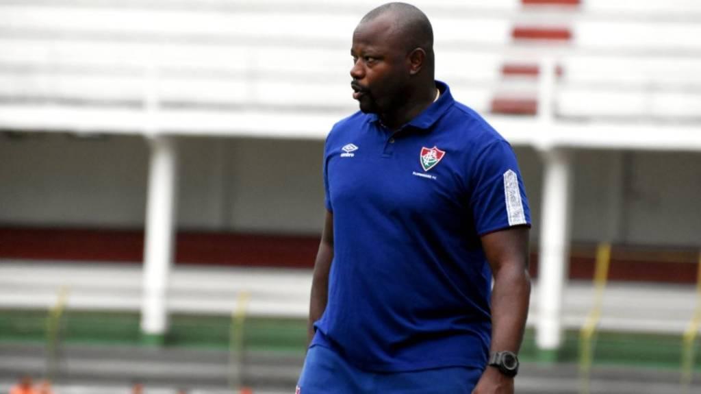 Marcão foi efetivado e assume o comando técnico do Fluminense até o final da temporada (Foto: Divulgação/Mailson Santana)