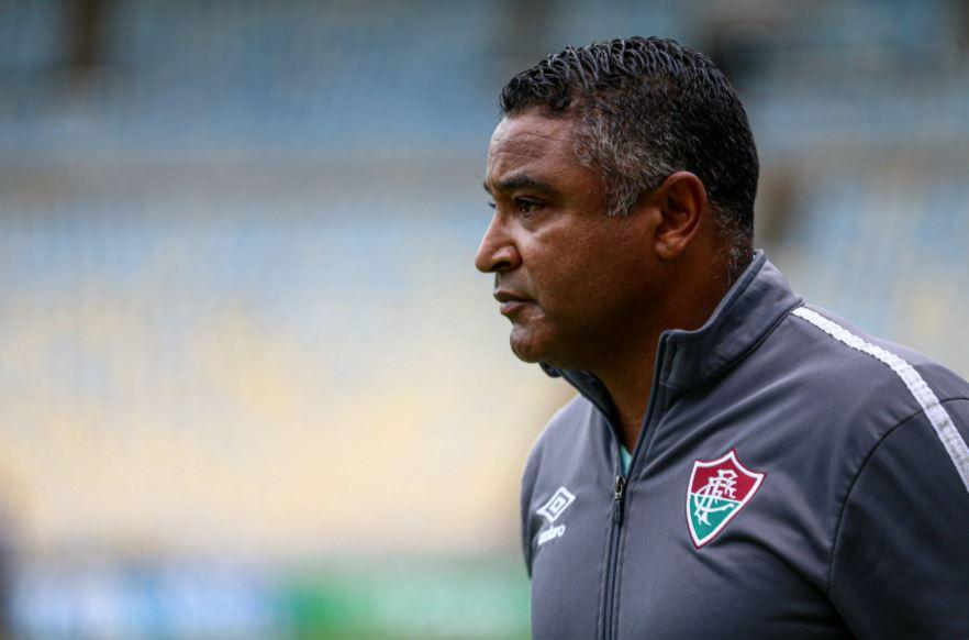 O Fluminense demitiu o técnico Roger Machado após a eliminação nas quartas de final da Libertadores para o Barcelona-EQU (Foto: Lucas Merçon/Fluminense)