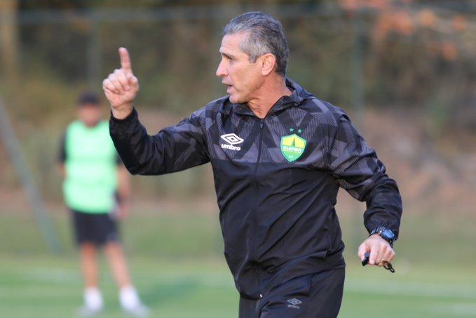 O Cuiabá anunciou a contratação do técnico Jorginho, de 56 anos, para a disputa da Série A do Campeonato Brasileiro (Foto: Divulgação/Cuiabá Esporte Clube)