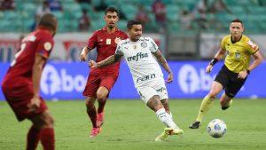 Palmeiras empata com o Bahia na Fonte Nova e estaciona na quarta colocação