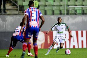 Bahia empata com América-MG e empurra o Santos para a zona de rebaixamento do Brasileirão