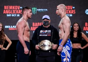 Bellator 268: Nemkov vs. Anglickas - Resultados - MMA Brasil