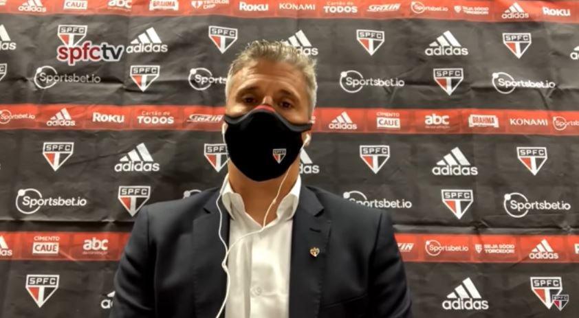 """""""Sabemos que podemos jogar melhor"""", avalia Crespo após eliminação na Copa do Brasil"""