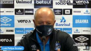 Grêmio: Felipão lamenta derrota para o Flamengo