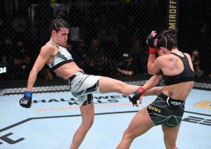 Mulheres brilham no UFC Vegas 39 e faturam todos os bônus de premiação - MMA Brasil