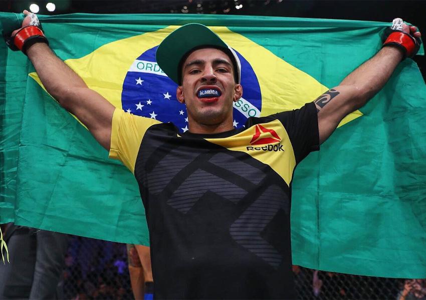 UFC demite Thomas Almeida, Antonio Arroyo e mais três lutadores