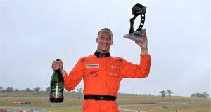 Na chuva, piloto Wallace Martins conquista primeira vitória na Fórmula Delta