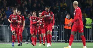 O Villarreal foi à Suíça e, bem mais eficiente no ataque, voltou com uma goleada sobre o Young Boys
