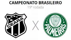 Ceará x Palmeiras Hoje Série A 20/10/2021