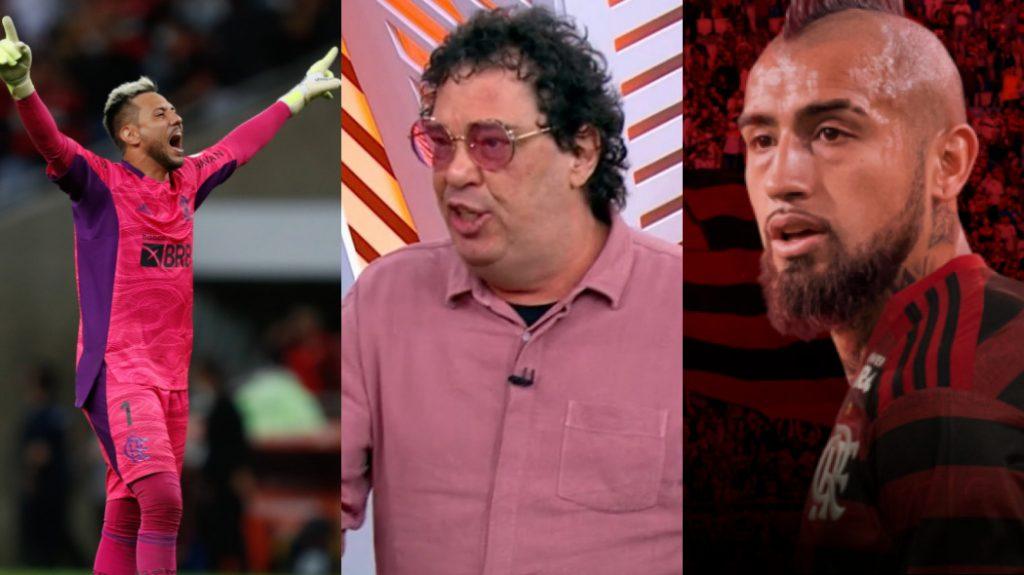 Flamengo: Casagrande, futuro de Diego Alves e Vidal: veja as notícias