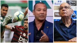 Punição para Flamengo e Palmeiras, pai de Neymar rebate Galvão, Grêmio recusado, proposta por Arão e mais: últimas notícias do futebol