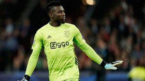 Internazionale avança em negociação com Onana, goleiro do Ajax